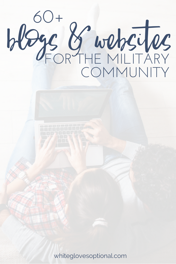 60+ blogs, websites and organizations for the military spouse